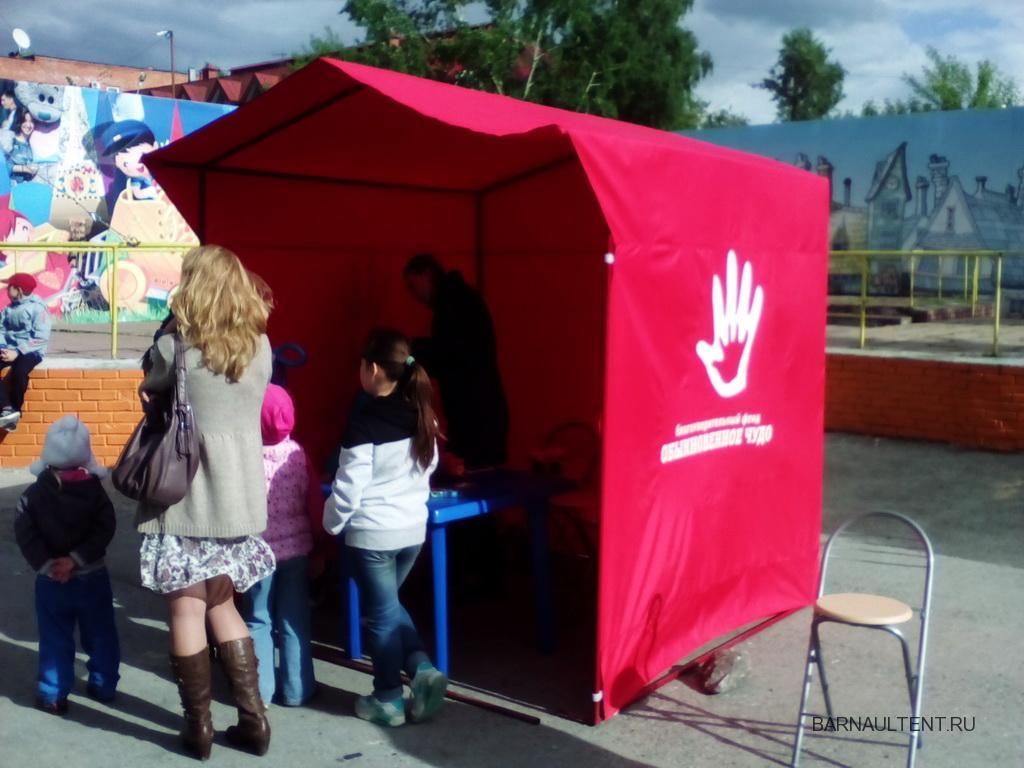 Торговые палатки в Барнауле