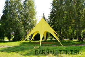 Изготовление вантовых шатров
