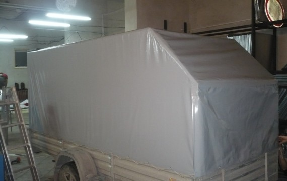 Изготовление тента на прицеп в Барнауле