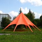 Тент-шатер «звезда» красный