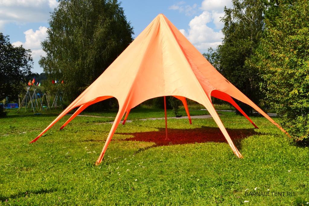 Тент-звезда в детский лагерь
