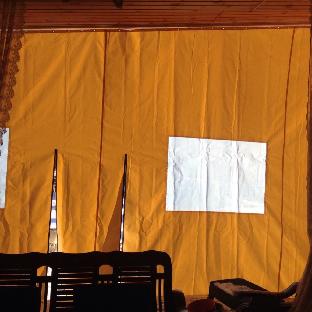 Уличные шторы для защиты веранды